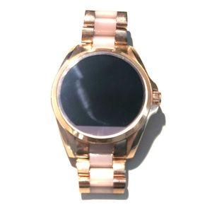 Michael kors Rose gold tech watch